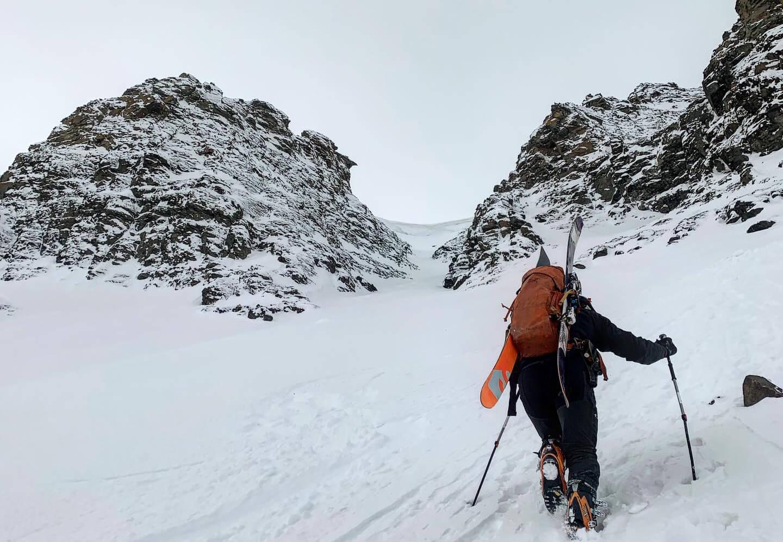 Hiking in Svalbard